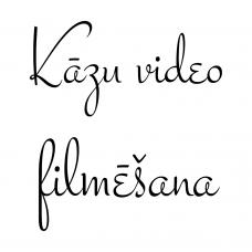 Kāzu video filmēšana